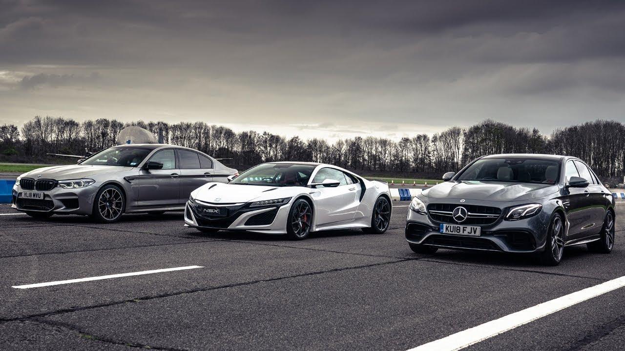 VIDEO: Hybridní japonský sporťák vs. ostré německé sedany? Top Gear uspořádal souboj generací - anotační obrázek