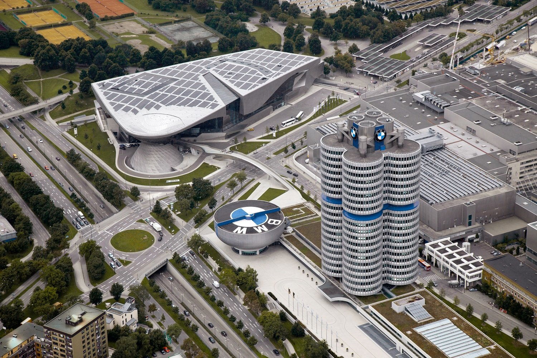 Areál BMW v Mnichově