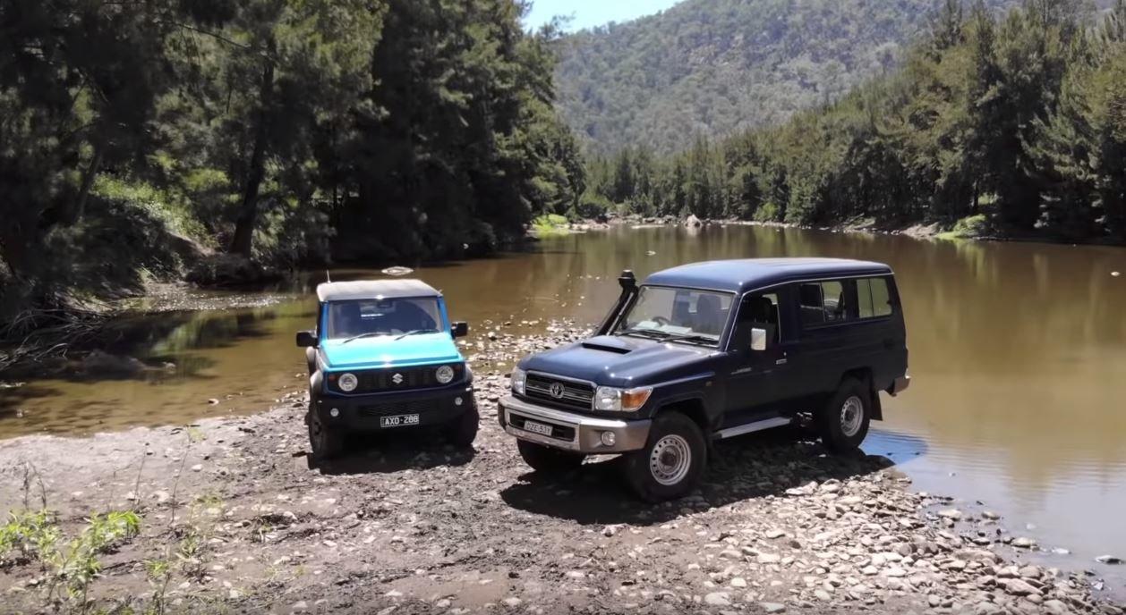 Suzuki Jimny vs. Toyota Land Cruiser: Nováček změřil síly s offroadovou legendou - anotační obrázek