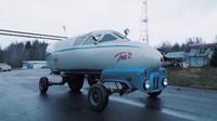 Nejbizarnější sovětský stroj? Auto z proudového bombardéru vzniklo v garáži - anotační obrázek