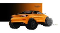 Škoda poodhalila Kodiaq ve verzi pick-up, dočkáme se nástupce Felicie Fun? - anotační foto