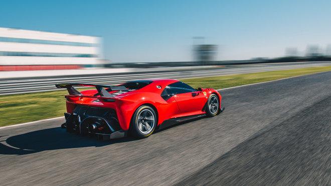 Ilustrační foto (Ferrari P80/C)
