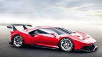 Ferrari P80/C: Unikátní okruhový speciál je extrémní v každém detailu - anotační foto