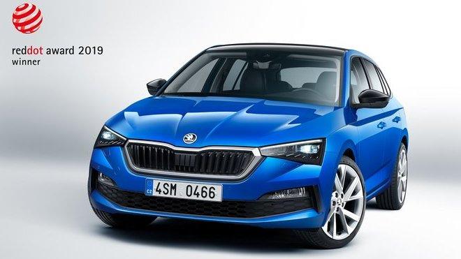 Mezinárodní odborníci rozhodli, že Škoda Scala získává cenu Red Dot Award v kategorii produktového designu