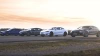 Srovnávací test prémiových ostrých sedanů  (YouTube/Carwow)