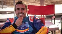 Fernando Alonso během testování s Toyotou v Jižní Africe