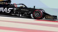 Romain Grosjean v tréninku v Bahrajnu