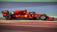 Charles Leclerc v kvalifikaci v Bahrajnu