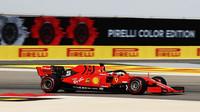 Sebastian Vettel v kvalifikaci v Bahrajnu