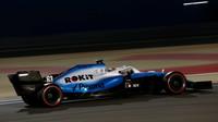 George Russell v kvalifikaci v Bahrajnu