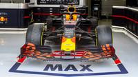 Vůz Maxe Verstappena před závodem v Bahrajnu