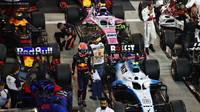 Max Verstappen po závodě v Bahrajnu