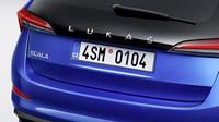 Výjimečná možnost individualizace pro nový vůz Škoda Scala: Na páté dveře jméno na přání