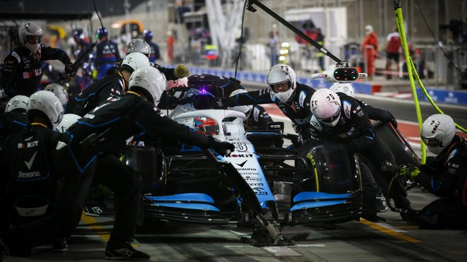 Mechanici Williamsu byli znovu nejrychlejší