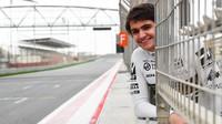 Pietro Fittipaldi během testů v Bahrajnu