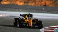 Lando Norris v závodě v Bahrajnu