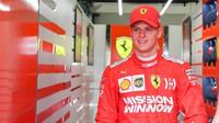 Mick Schumacher v Bahrajnu