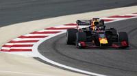Max Verstappen v rámci sezónních testů v Bahrajnu