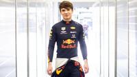 Mladý talent Red Bullu Dan Ticktum v rámci sezónních testů v Bahrajnu