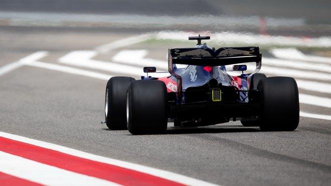 Alexander Albon byl v závodě na rovinkách nejrychlejší