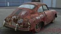 Zbídačené Porsche 356 je na prodej za 1.9 milionu Kč, přesto se může jednat o zajímavou investici