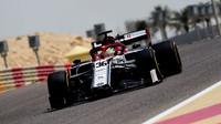 Mick Schumacher v rámci sezónních testů v Bahrajnu