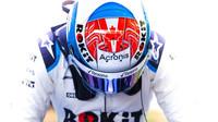 Nicholas Latifi v rámci sezónních testů v Bahrajnu
