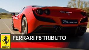 Ferrari F8 Tributo v akci