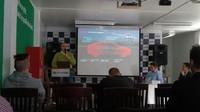 Tisková konference k novince i30 Fastback