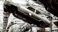 Výroba vozidel Volkswagen Passat vzávodě Emden vroce 1978