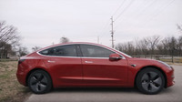 Tesla Model 3 (YouTube/Andy Slye)