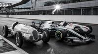 Mercedes k jubilejní 1000. GP v Silverstone