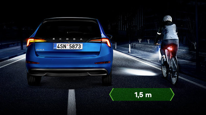 """Škoda zahajuje dopravně-bezpečnostní kampaň """"Stay On The Safe Side"""" pro cyklisty i motoristy"""