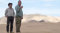 Záběry z 13. epizody 3. řady The Grand Tour (TV pořad Amazonu)