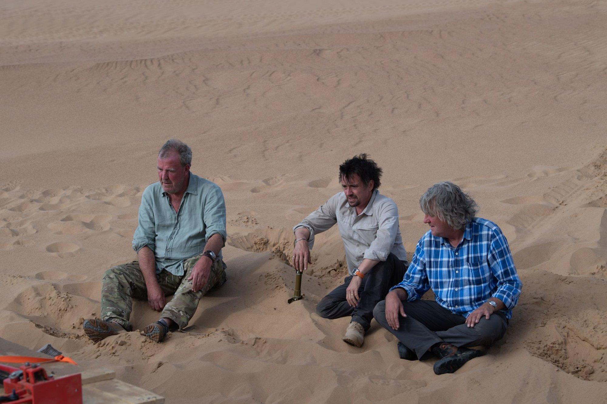 Clarkson a spol. se báli o život. Grand Tour musel zrušit připravovaný speciál - anotační obrázek