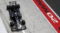 Romain Grosjean při tréninku v Číně