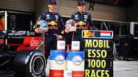 Pierre Gasly a Max Verstappen v Číně