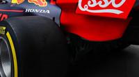 Zadní část vozu Red Bull při tréninku v Číně