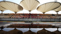 Daniel Ricciardo při tréninku v Číně