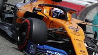 Carlos Sainz v kvalifikaci v Číně