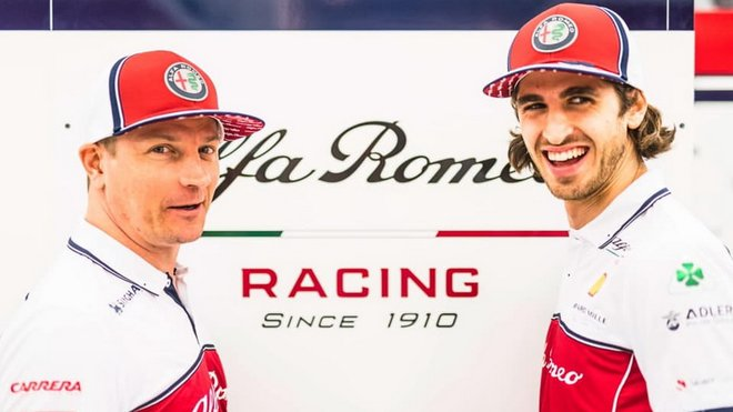 Kimi Räikkönen a Antonio Giovinazzi setrvají u italského týmu