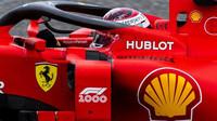 Druhý trénink se také neobešel bez incidentů a červených vlajek, Ferrari na čele - anotační foto