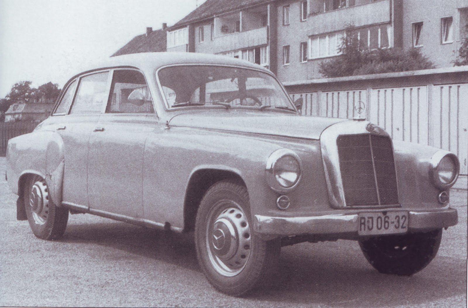 Schwartz Mercedes-Wartburg