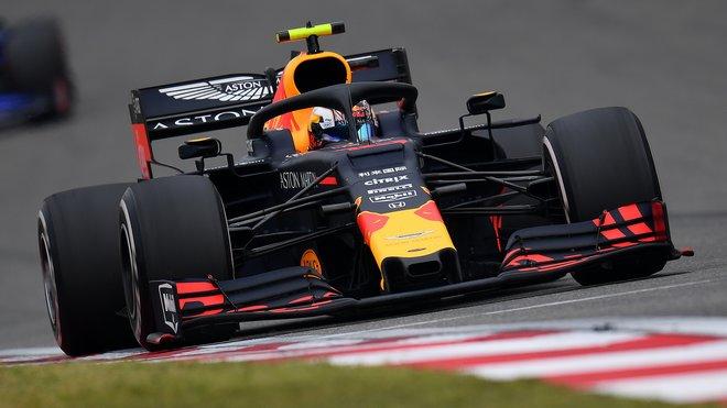 Pierre Gasly v GP Číny předvedl nejrychlejší kolo, s vozem RB15 se ale pořád trápí