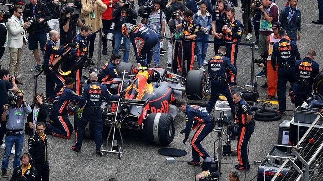 Red Bull předvedl v Německu nejlepší práci