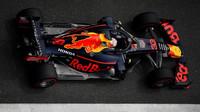 Max Verstappen v závodě v Číně