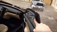 Tesla Model S dostala 195 kg pancéřování, které bezpečně zastaví výstřel z pistole ráže 9 mm