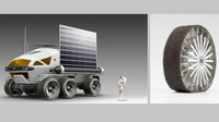 Pneumatiky pro jízdu po Měsíci? Bridgestone se chystá s Toyotou do vesmíru - anotační obrázek