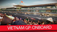 Průjezdu novým okruhem ve Vietnamu
