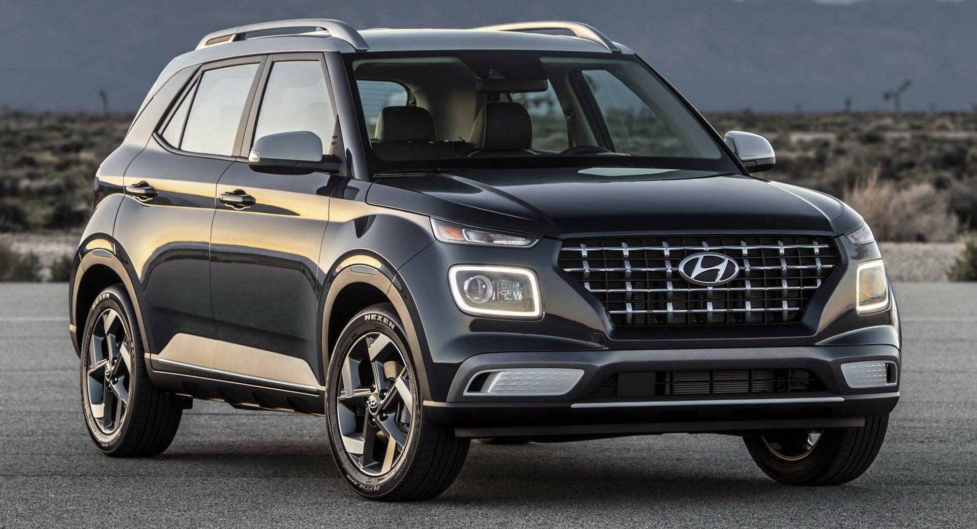 Hyundai představil svůj nejmenší crossover Venue. Hlavní otázka ...
